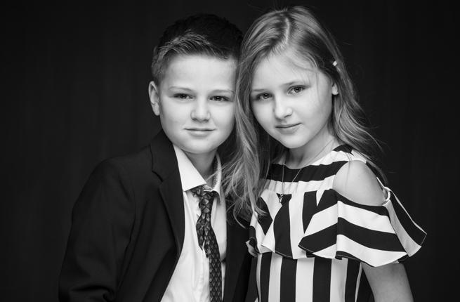coole kids - Annika en Luca - kinderfoto