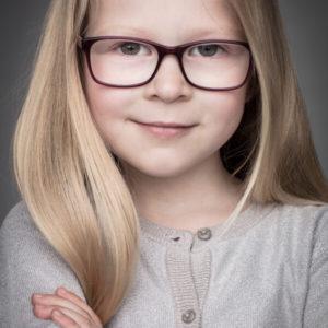 Kinderfoto meisje
