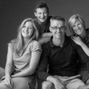 stijlvolle Familiefoto