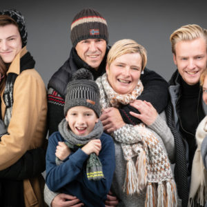 winter Familiefoto
