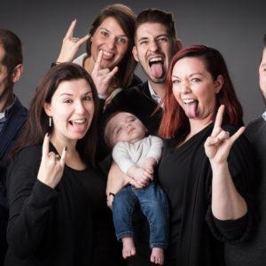 ruige Familiefoto