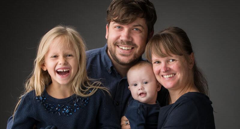 Familiefoto fotograaf Kwinten en Tine Verspeurt