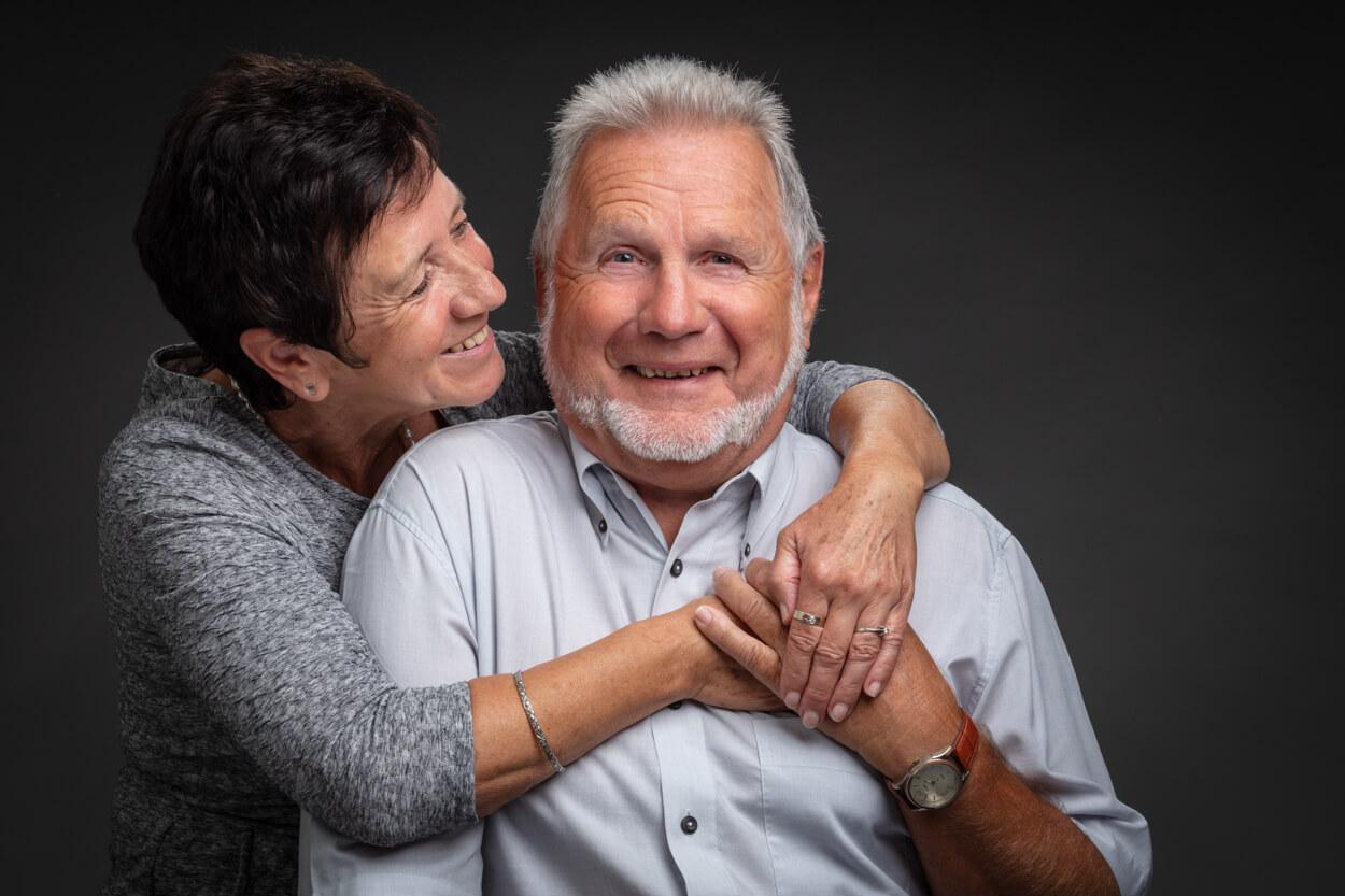 foto senioren koppel - seniorenportret