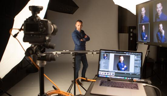 Profielfotos maken bij fotograaf voor Linkedin