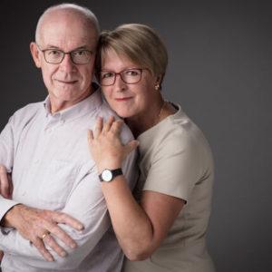 Koppelfoto - senioren portret - foto oma en opa - fotograaf