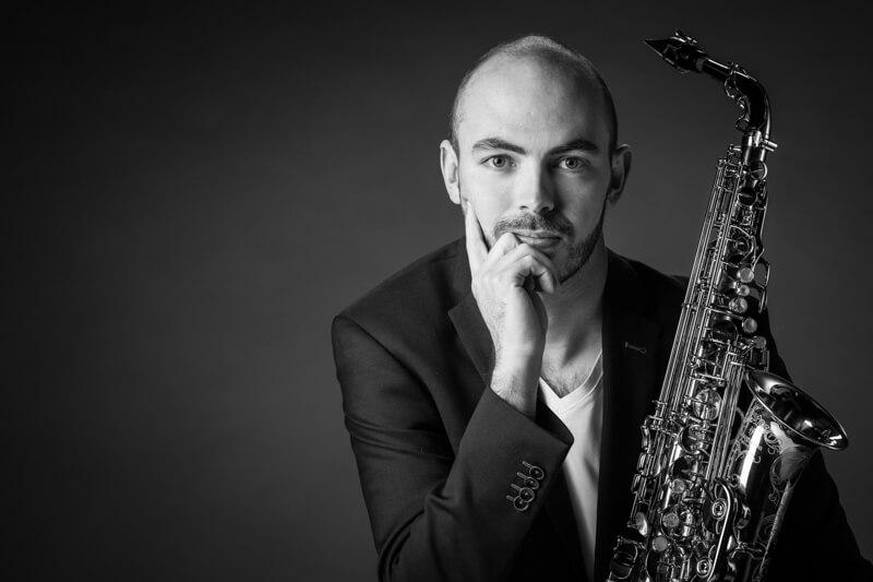 Saxofoon speler Storytelling Portrait - Jeroen Van Bevers