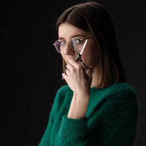 Bedrijfsreportage - profielfoto met verhaal - Sarie Fouquaet kapster
