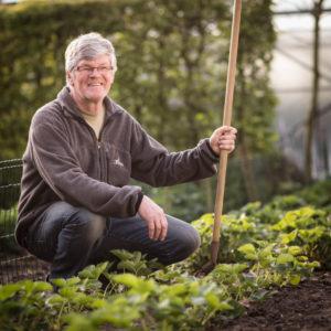 Bedrijfsreportage - profielfoto met verhaal - Tuinier Fons Van Assche