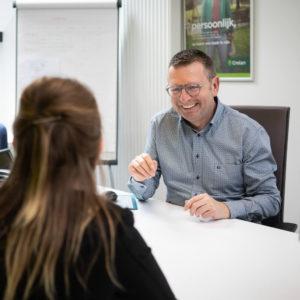 Bedrijfsreportage - profielfoto met verhaal - bankier