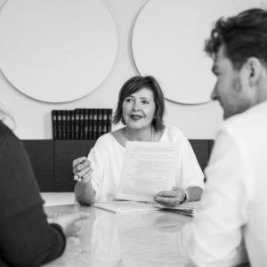 Bedrijfsreportage - profielfoto met verhaal - consultatie advocaat Mahla