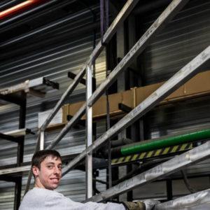 Bedrijfsreportage - profielfoto met verhaal - metaalbewerking - Hortipoort