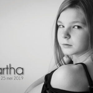 communiefoto communieKaartjes tweede lentefeest Martha