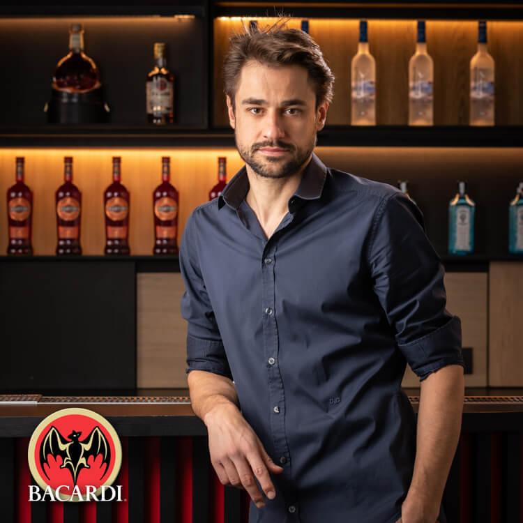 Portretfoto voor Bacardi - profielfoto medewerker