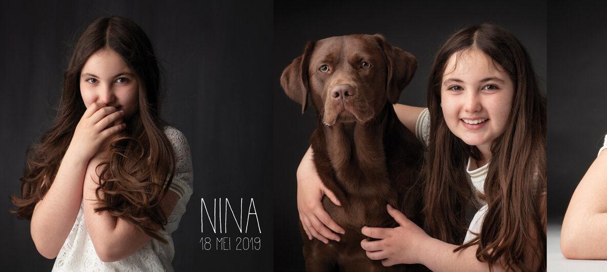 communieKaartje Nina