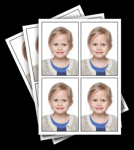 Pasfoto's bij Fotostudio Kwinten in Willebroek