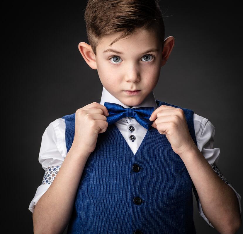 Eerste communie foto jongen