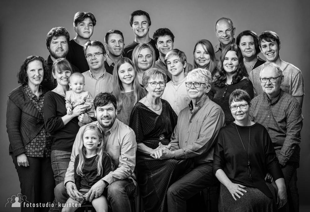Familiefoto grote familie - Familie Verspeurt