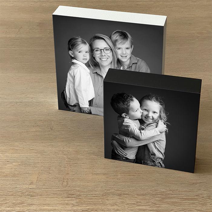 Fotoblok voor vaderdag als kado - Fotostudio kwinten