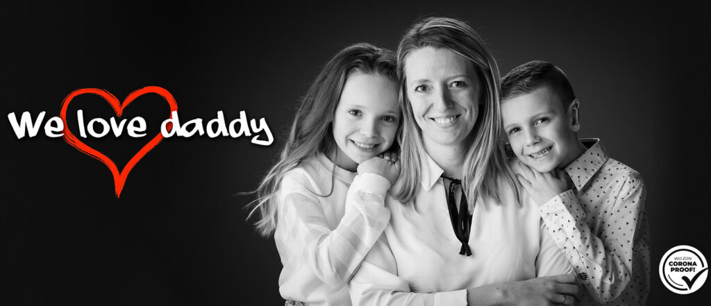 Unique sessions: We love daddy - vaderdag cadeau