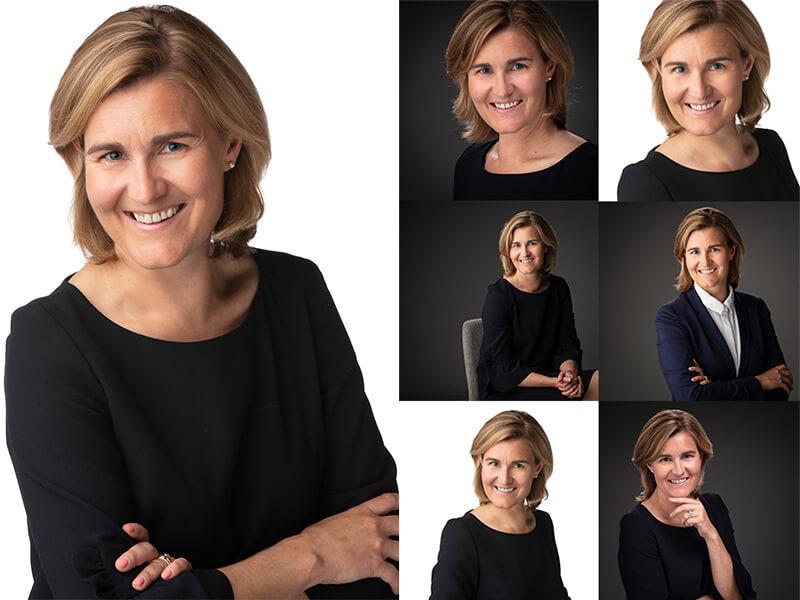 Profielfoto's bij fotograaf in studio