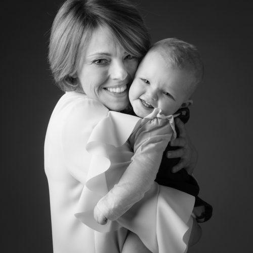 mama met dochter babyfoto
