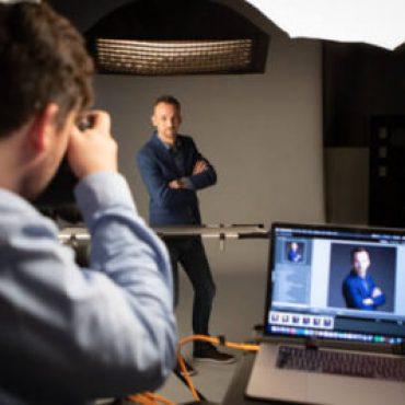 Fotoshoot profielfoto in studio