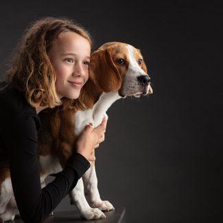 hond met jongen