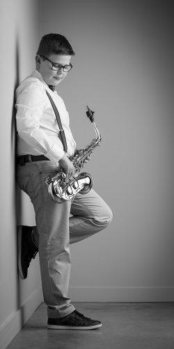 Saxofoon speler